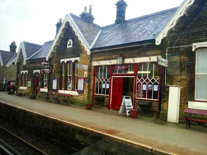 Station building at Settle.