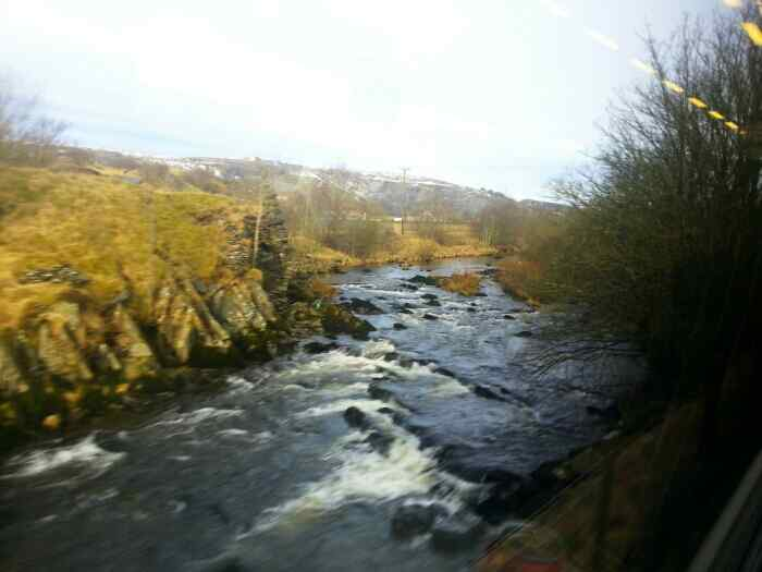 River Ribble Ribblesdale.
