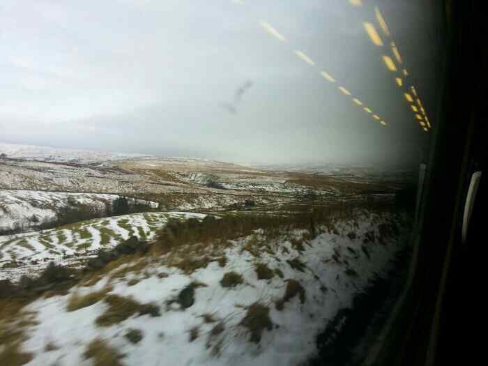 Between Dent and Garsdale.