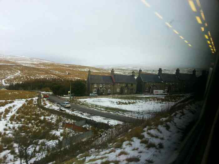Approaching Garsdale.