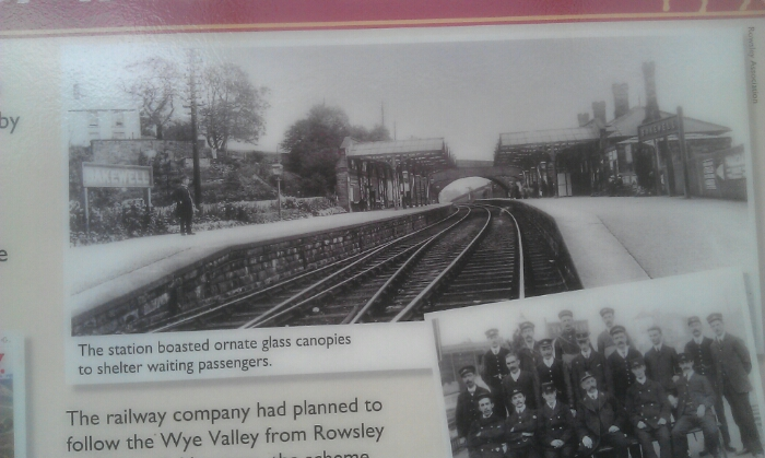 Bakewell station as it was.